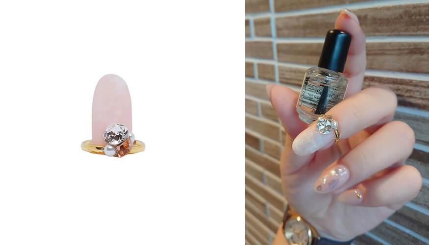 「STAMPNAIL RING(スタンプネイル リング)」人気アイテムのSTAMPNAIL RING 036/¥3,300税込み)