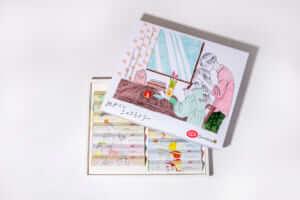 キットカットの「めかくしショコラトリー」の特別ボックス/¥5,100(税抜き)