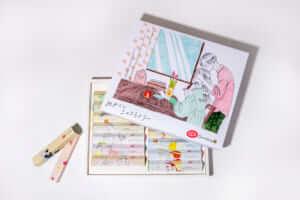 キットカットの「めかくしショコラトリー」の15個入りボックス