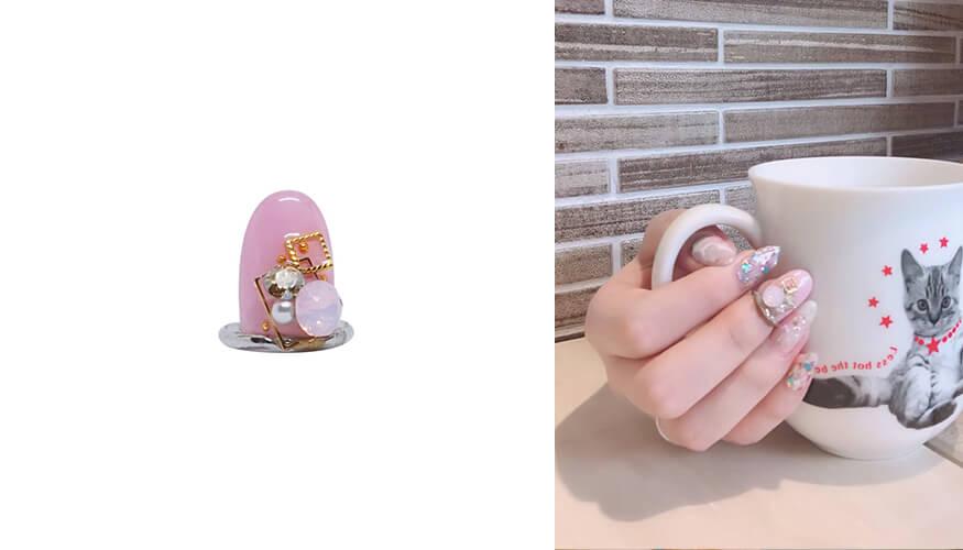「STAMPNAIL RING(スタンプネイル リング)」人気アイテムのSTAMPNAIL RING 006/¥5,500(税込み)
