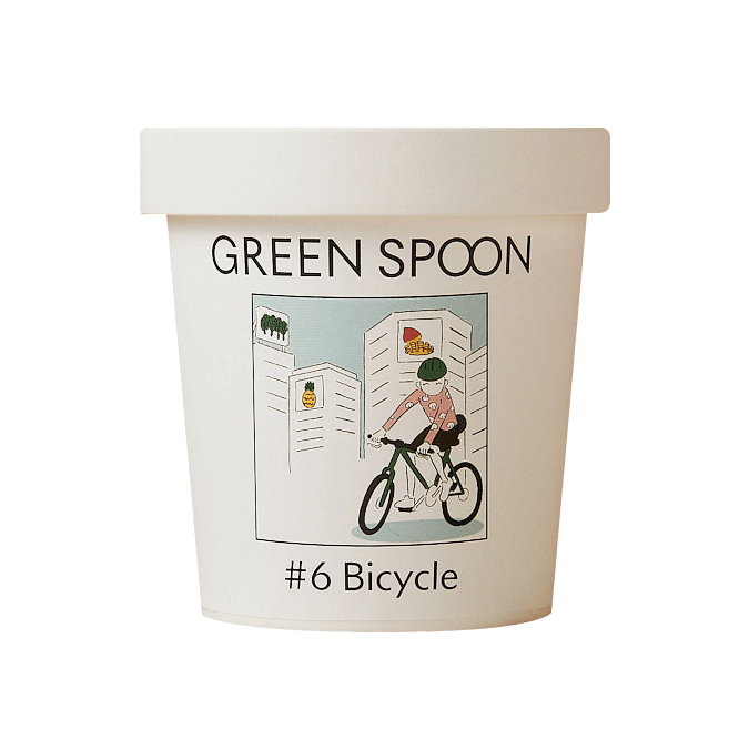 GREEN SPOON(グリーンスプーン)のスムージー♯6 Bicycle