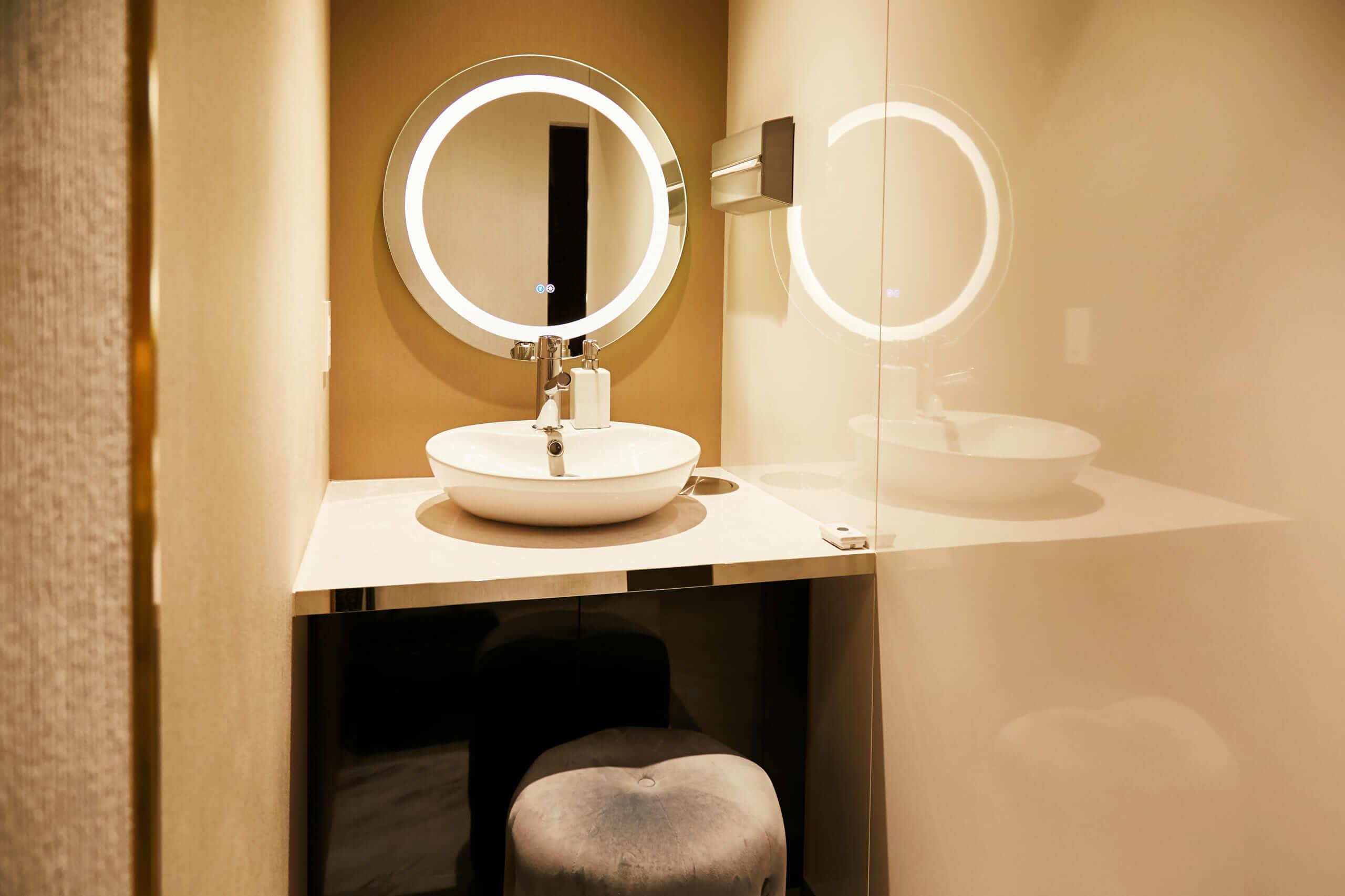 プルージュ美容クリニックのパウダールーム・トイレ