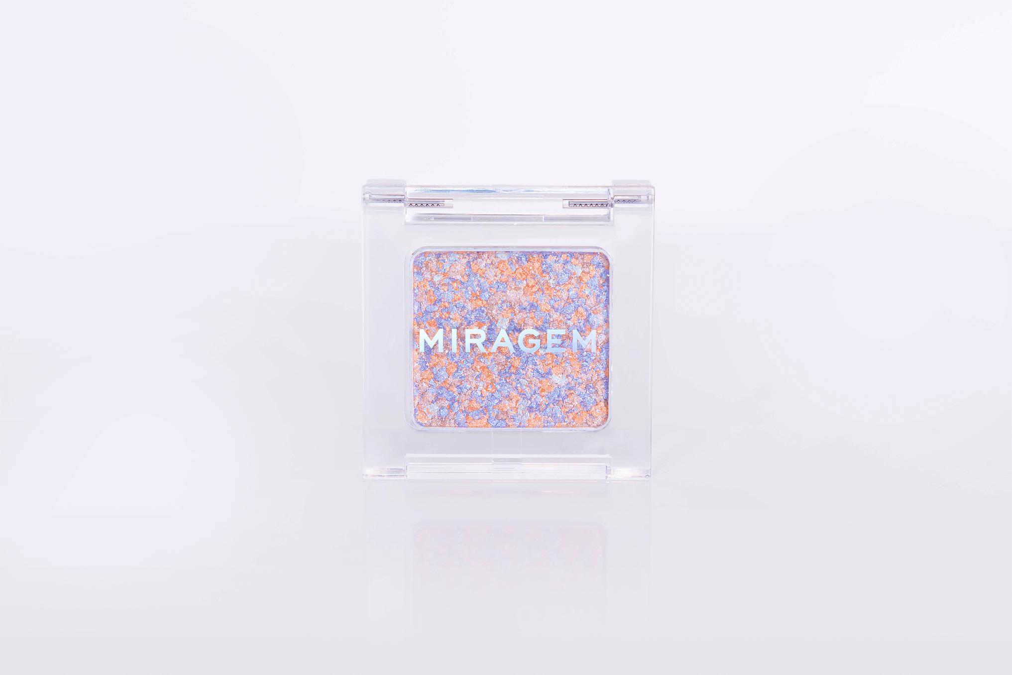 MIRAGEM(ミラジェム)のグリッタースプリンクルアイズ 02 ユニコーンドリーム/¥2,100(税抜き)