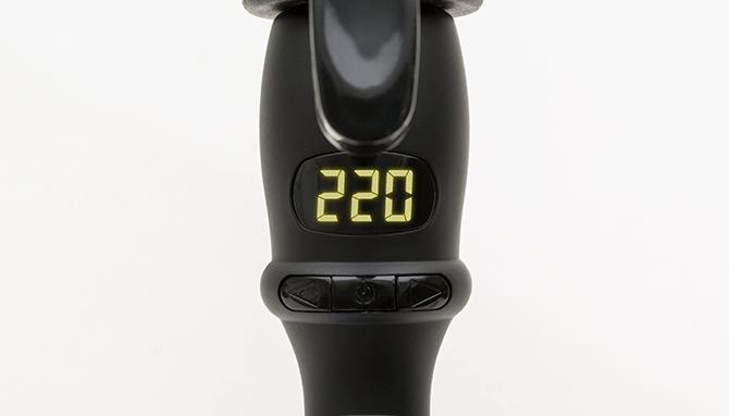 5℃刻みで調節が可能な温度設定