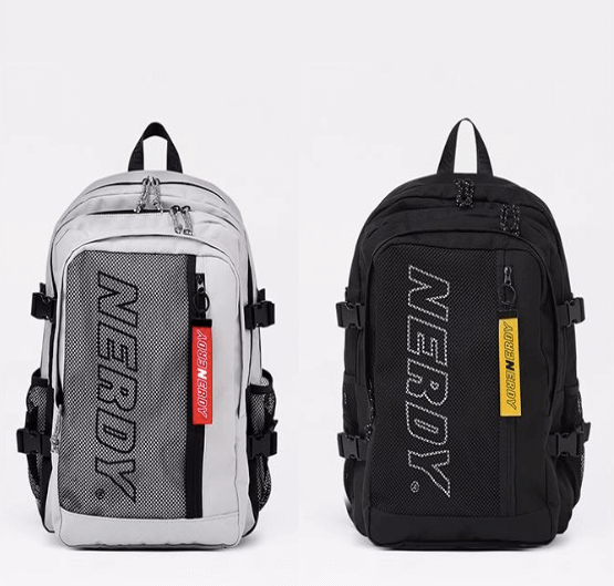 Belted Mesh Backpack/すべて¥13,310(税込み)