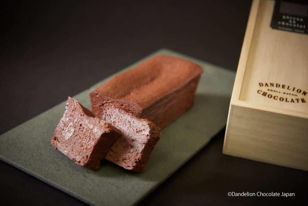 ダンデライオン・チョコレート 表参道店のガトーショコラ /¥3,600(税抜き)