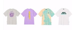 T-shirt 4種/すべて¥5,390〜(税込み)
