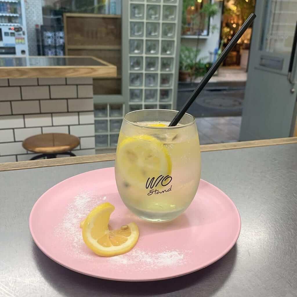 アイスレモネード/¥450(税込み)