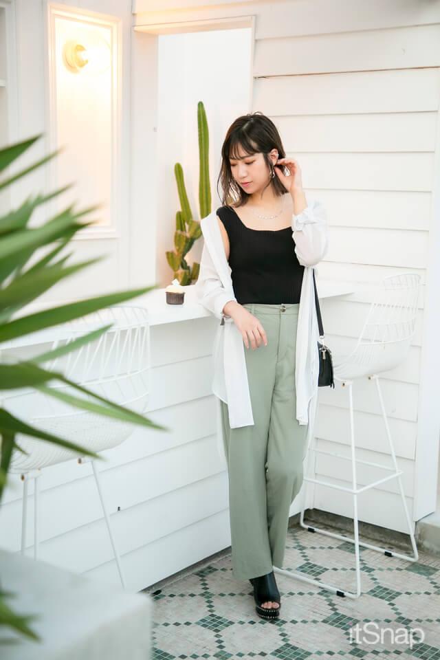 看護師、女優、タレント・榎本あやせサン/23歳(163cm)