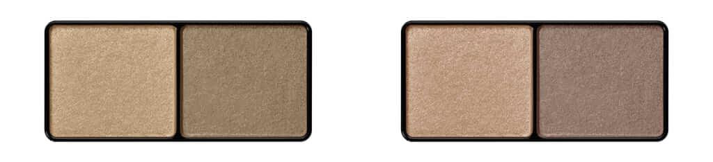 アイエディション(カラーパレット) 左から:05オリーブブラウン、06グレージュ/すべて¥1,400(税抜き)