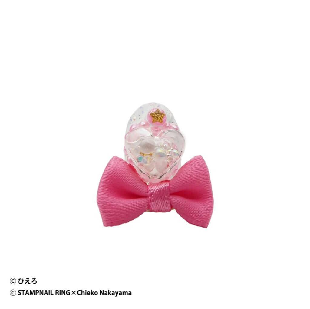 魔法の天使クリィミーマミ Design Ring 003 濃いピンクリボン/¥5,720(税込み)