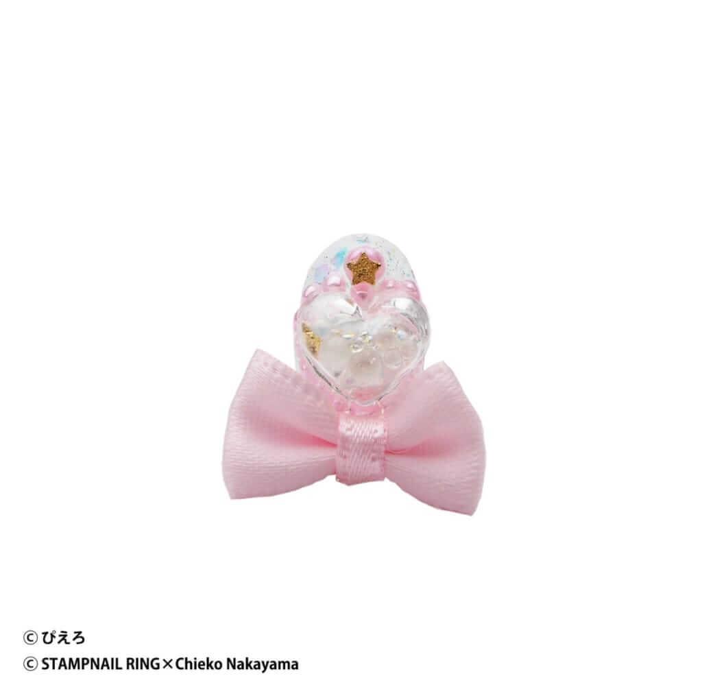 魔法の天使クリィミーマミ Design Ring 003 薄いピンクリボン/¥5,720(税込み)