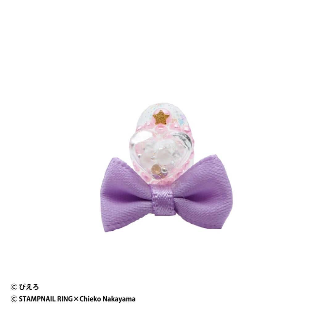 魔法の天使クリィミーマミ Design Ring 003 パープルリボン/¥5,720(税込み)