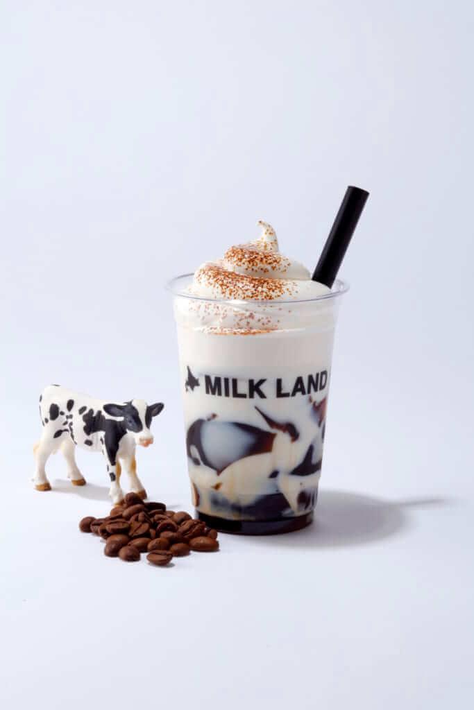 コーヒーゼリーミルク