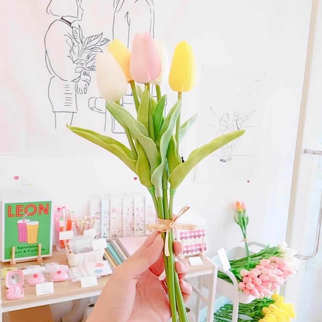 Somsatang(ソムサタン)のtulip(Artificial flower)/¥180(税込み)