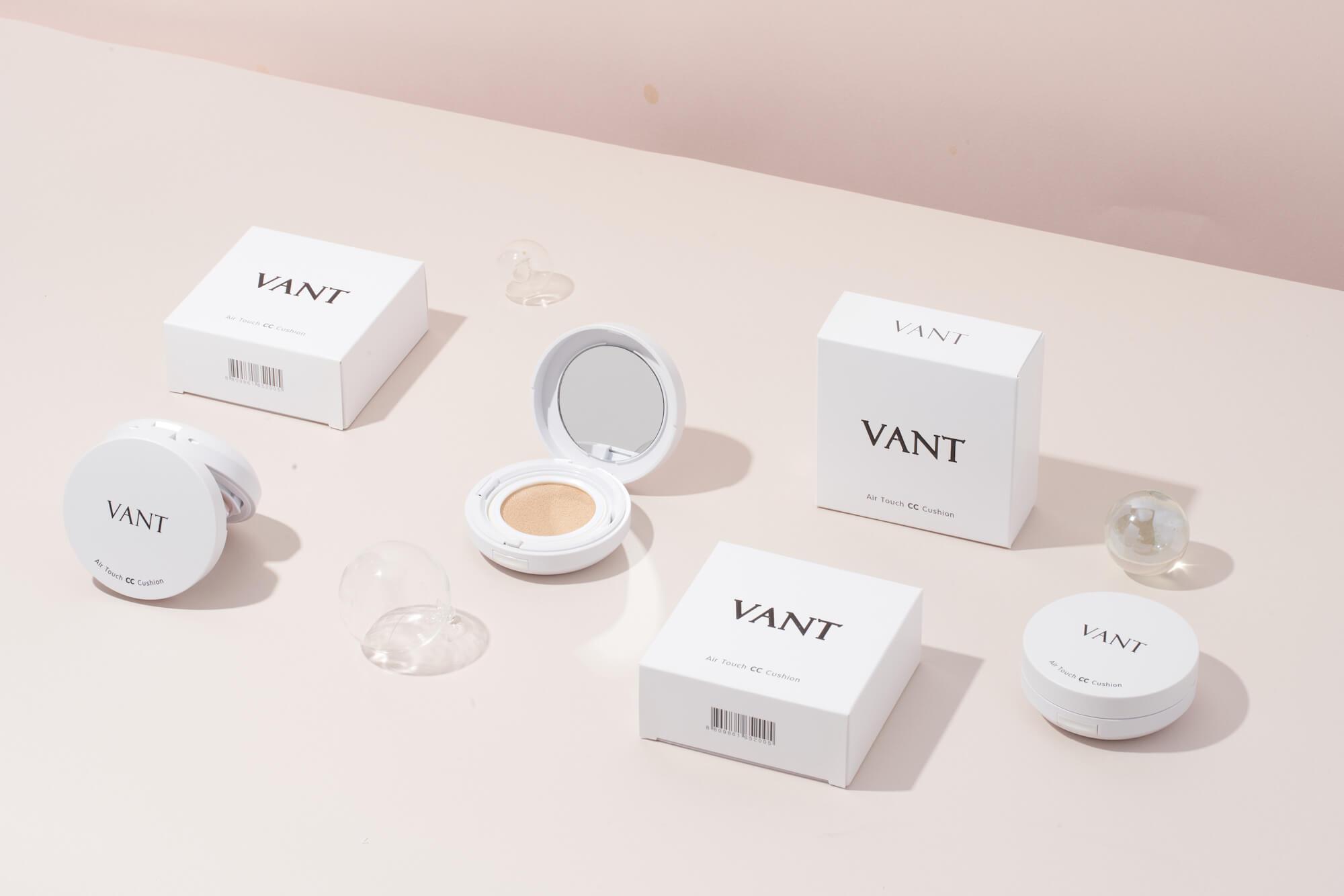 韓国コスメ「VANT36.5(バント)」のクッションファンデ