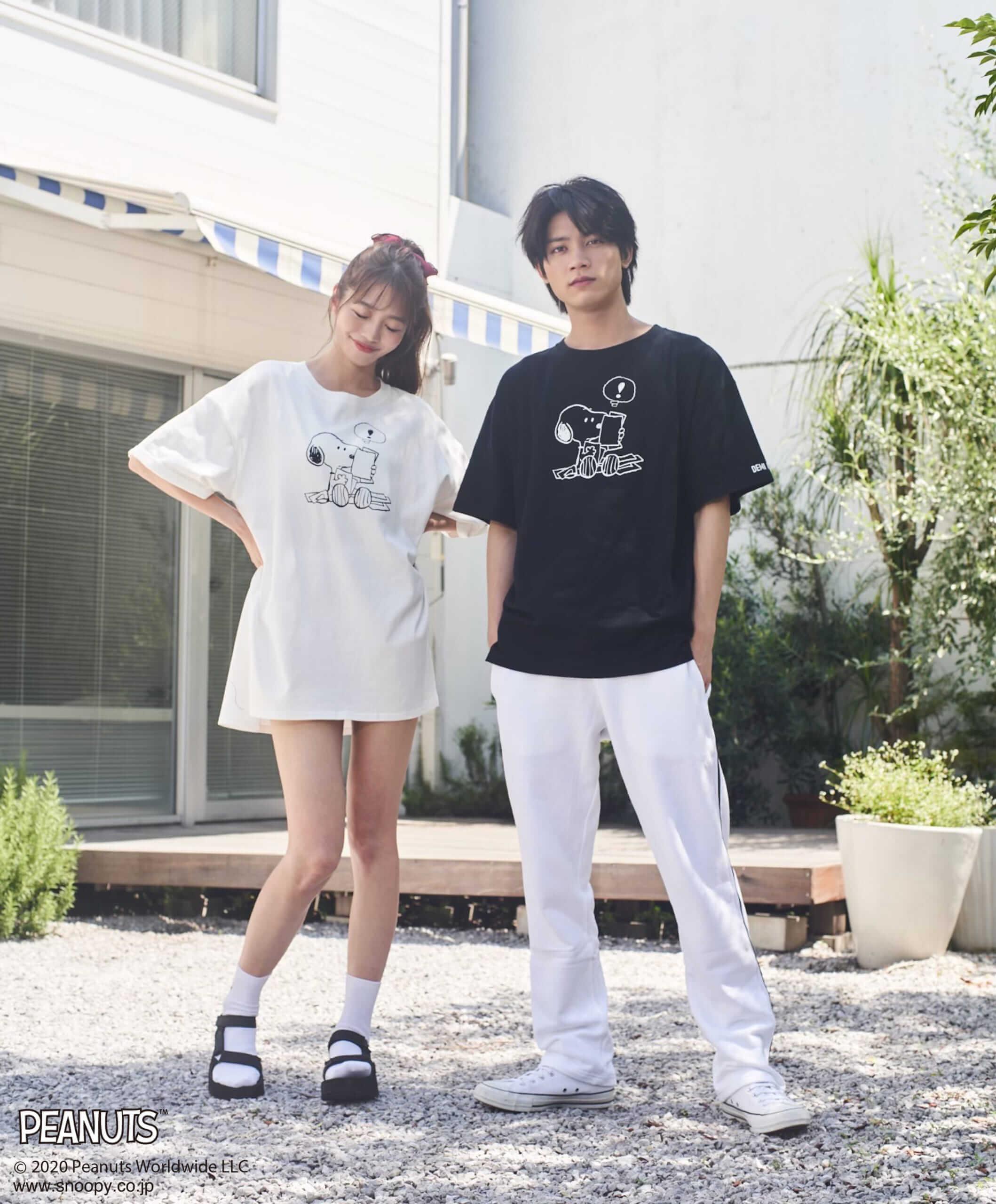 【Unisex】SNOOPYオーバーTシャツ/¥5,500(税込み)