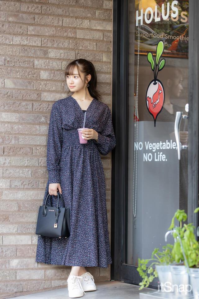 9/24(木)公開 :東洋大学一年・川岸瑠那サン/19歳(154cm)のコーデ