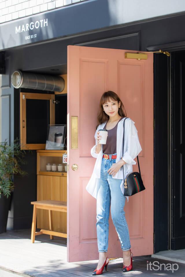 9/25(金)公開 :モデル ・住吉史衣サン/28歳(156cm)のコーデ