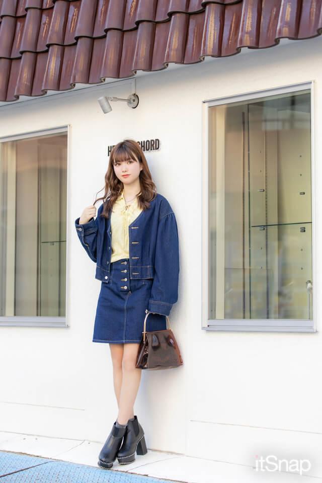 9/23(水)公開 :桜美林大学二年・林みなみサン/20歳(160cm)のコーデ