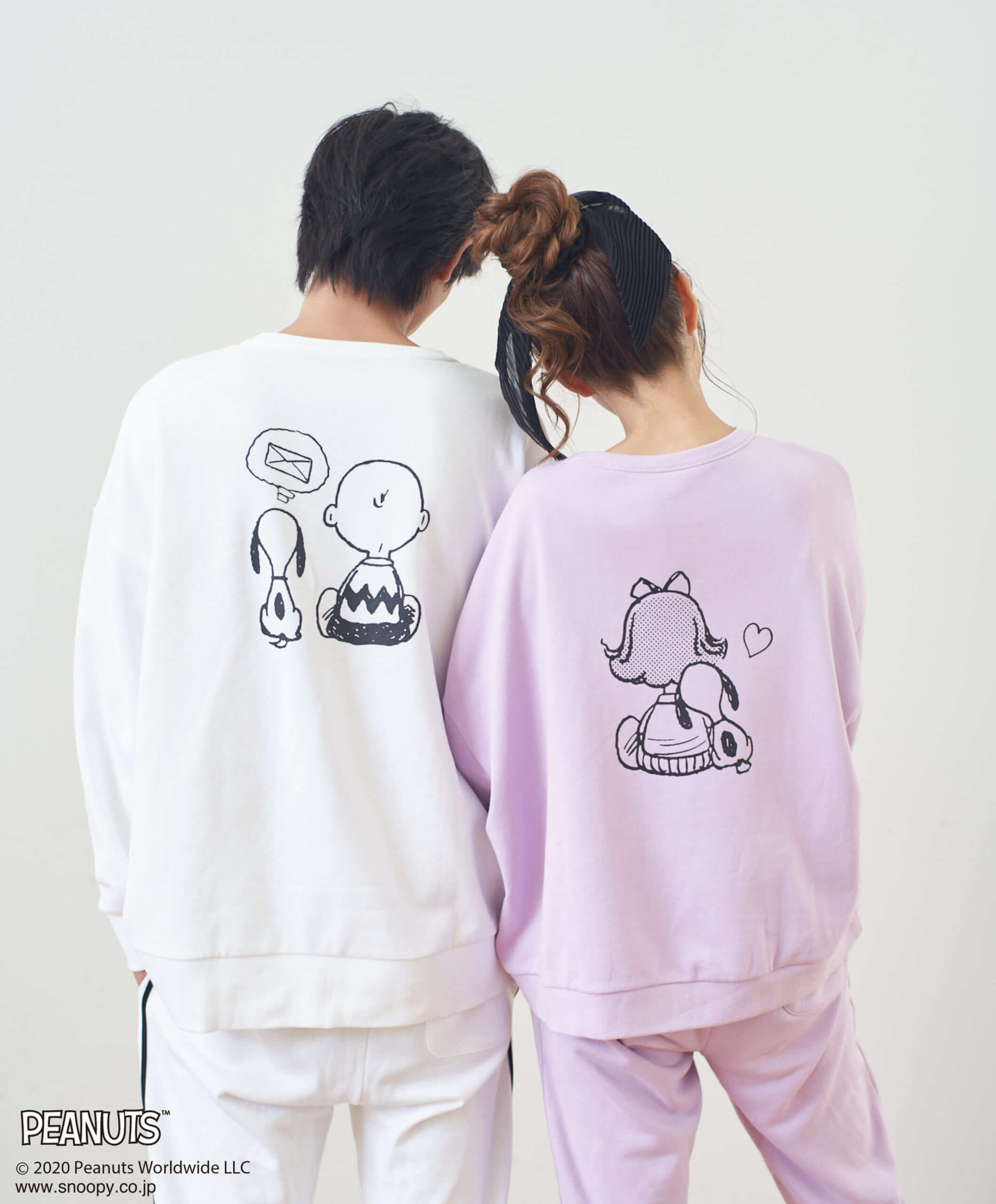 SNOOPY&Peggy Jeanトレーナー/¥7,000(税込み)