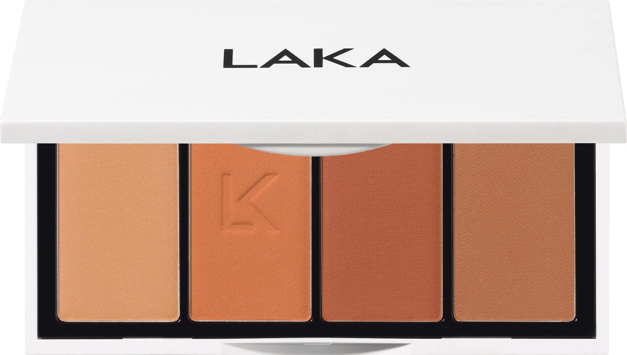 最新韓国コスメ「LAKA(ラカ)」のジャストアイパレットの06.TANGERINE/¥2,600(税抜き)