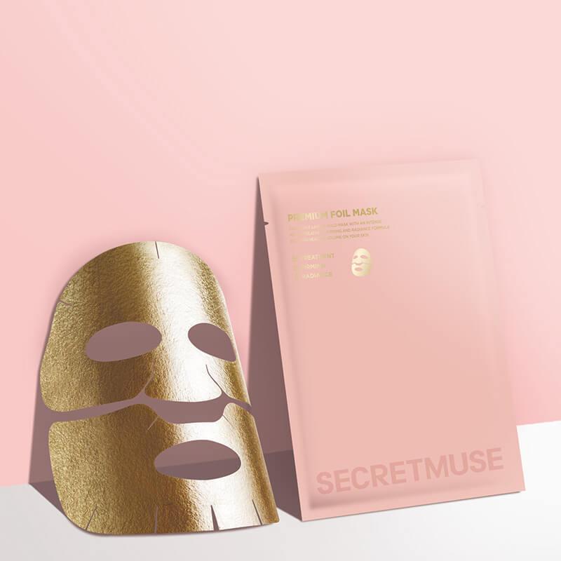 シークレットミューズプレミアムフォイルマスク(30g×3)/¥1,320(税抜き)