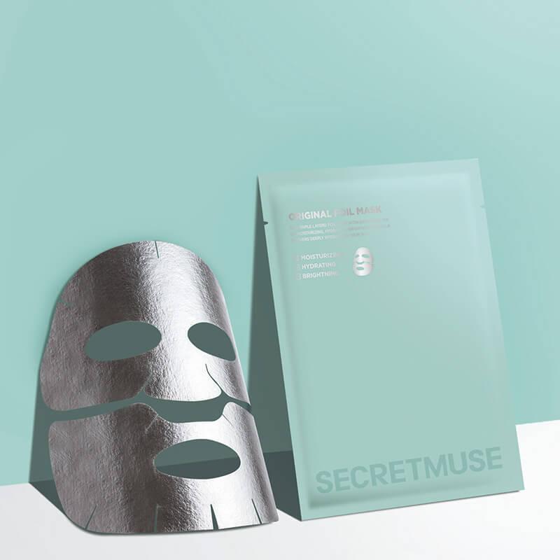 シークレットミューズオリジナルフォイルマスク(30g×3)/¥1,320(税抜き)