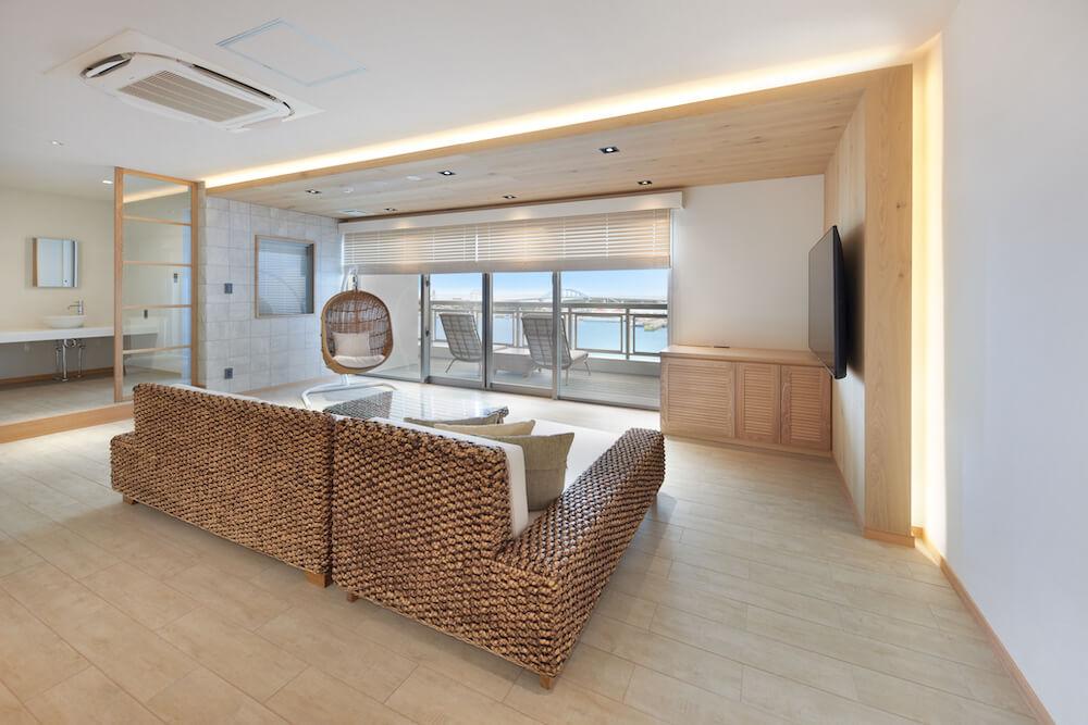 THIRD石垣島のスイートルーム