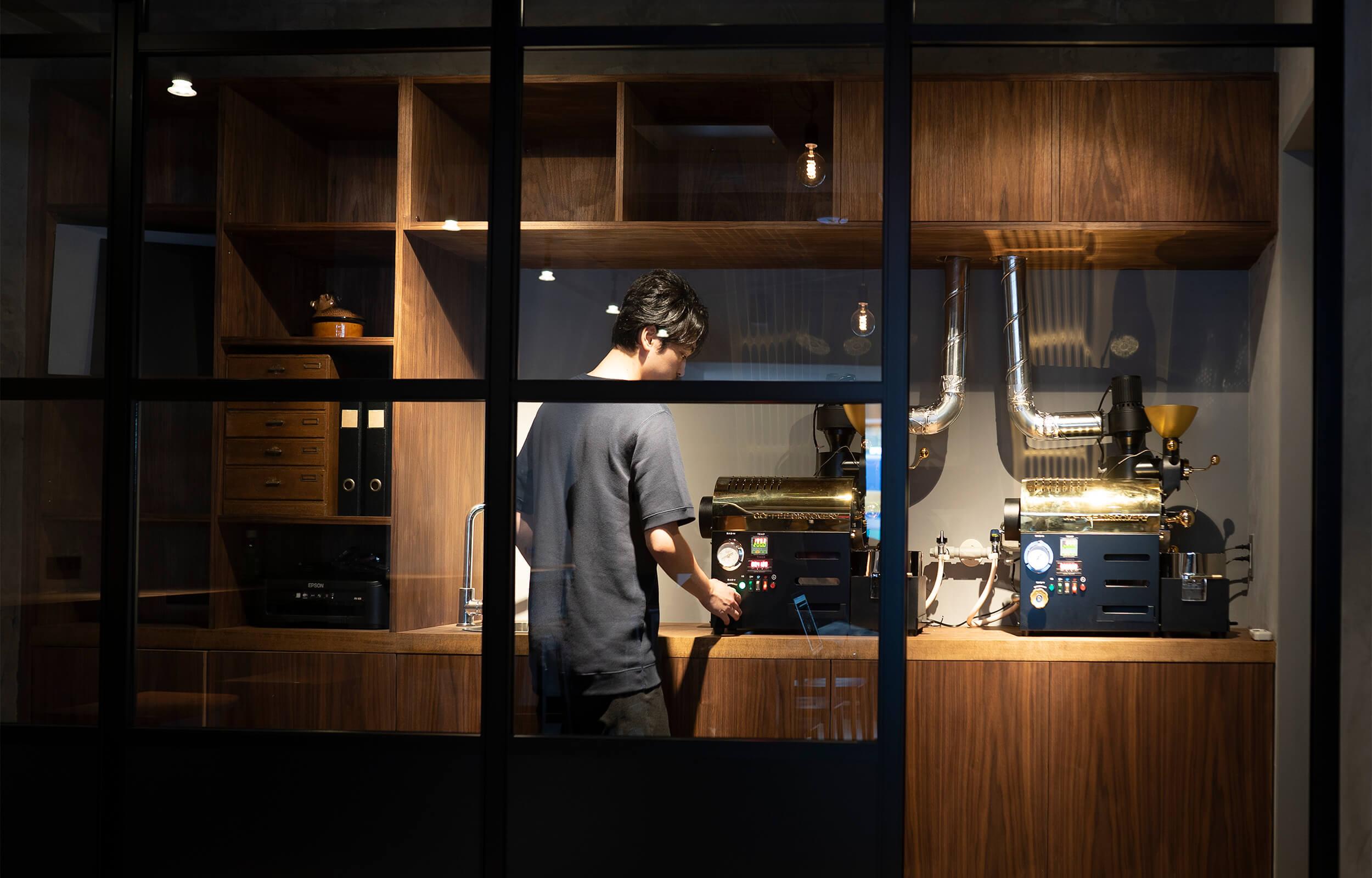 Beasty Coffee [cafe laboratory](ビースティーコーヒー カフェラボラトリー)の店内