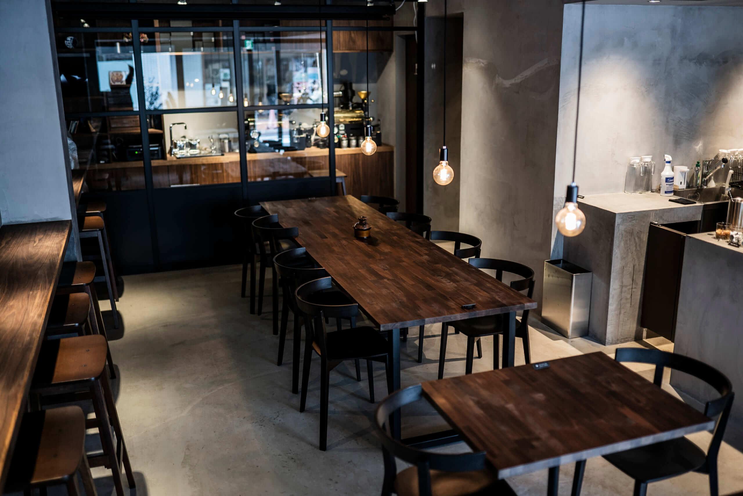 Beasty Coffee [cafe laboratory](ビースティーコーヒー カフェラボラトリー)の店内席