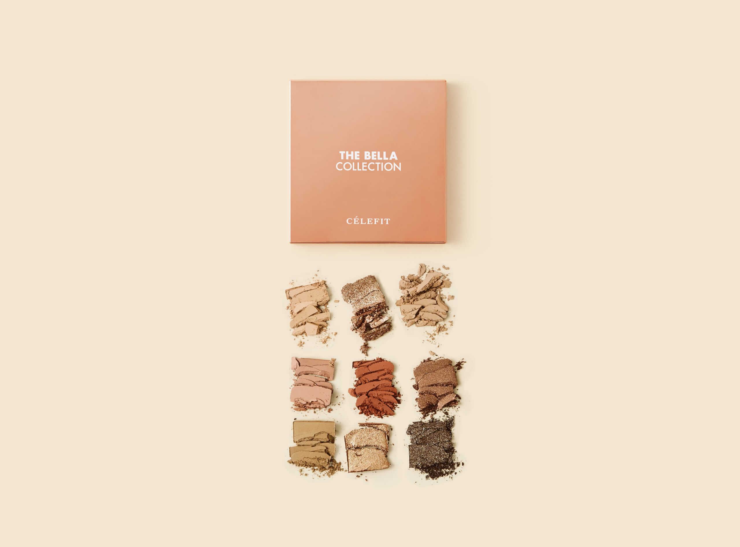 セレフィット ザ ベラ コレクション アイシャドウパレット♯2/¥2,800(税抜き)