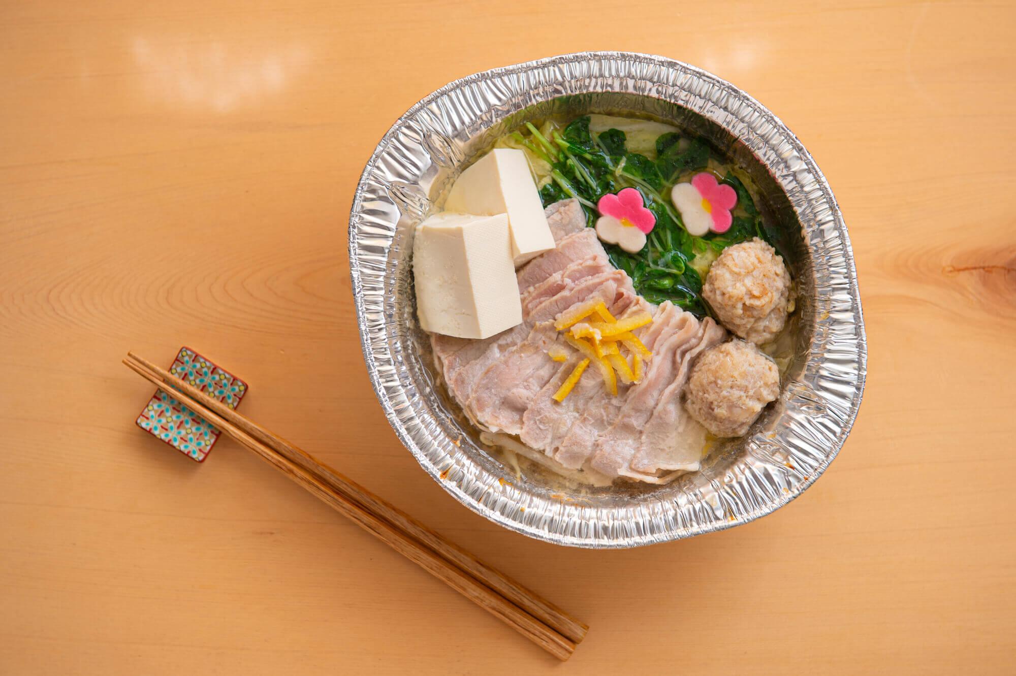 """""""あっさり""""鯛塩スープ鍋/¥1,200(税抜き)"""