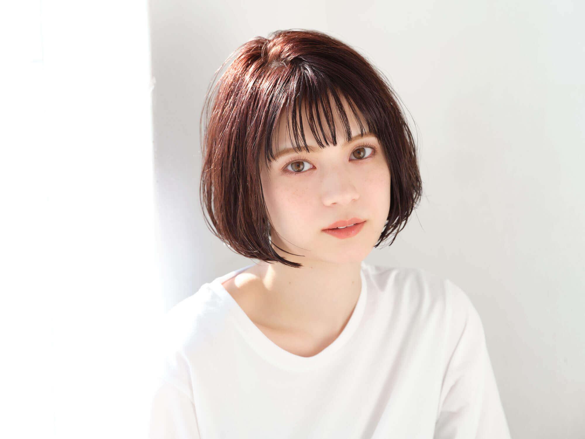 マルチオイル(Sakura)を使ったヘアスタイル
