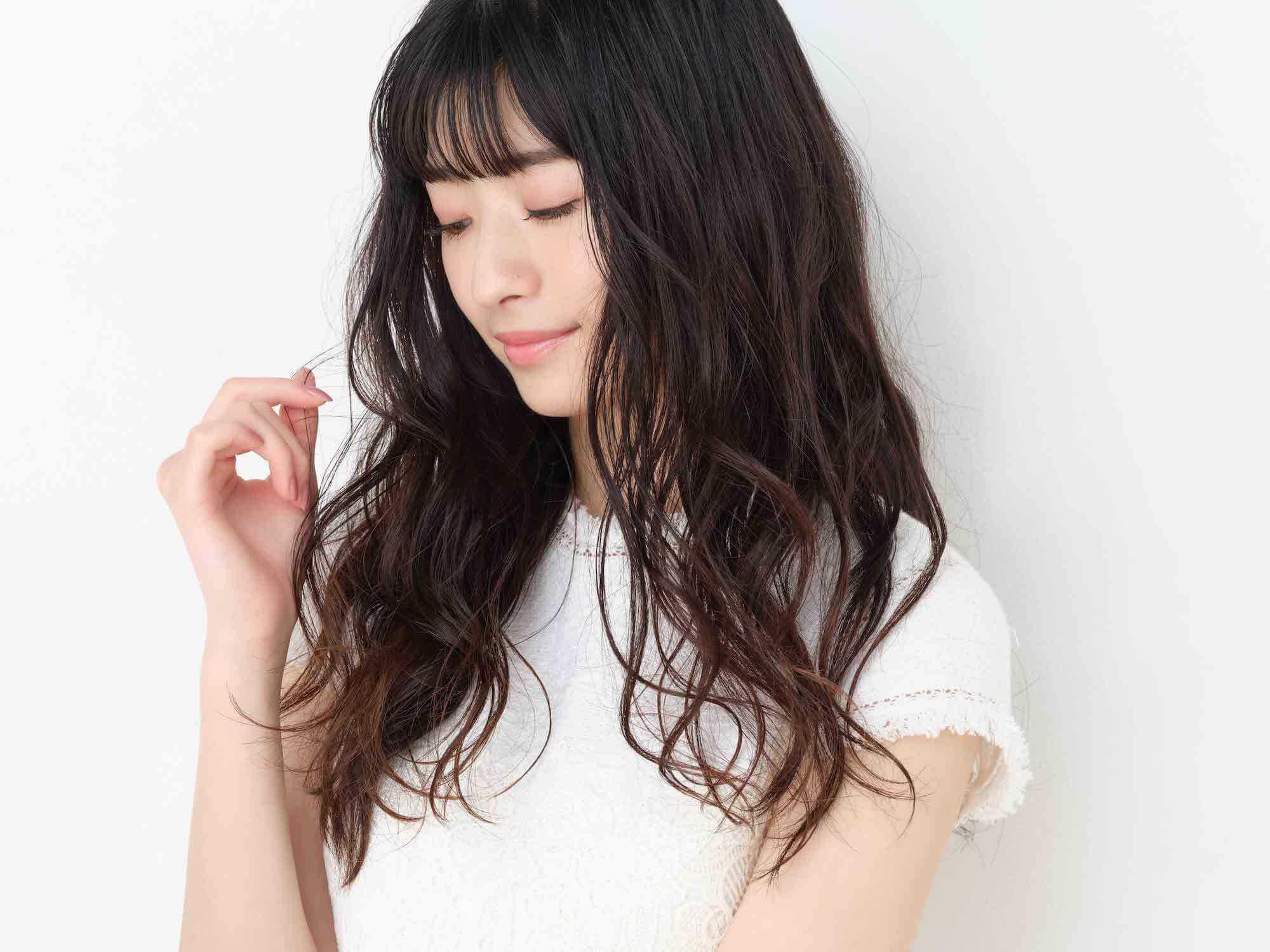 スタイリングスプレーカールメイク(Sakura)を使ったヘアスタイル
