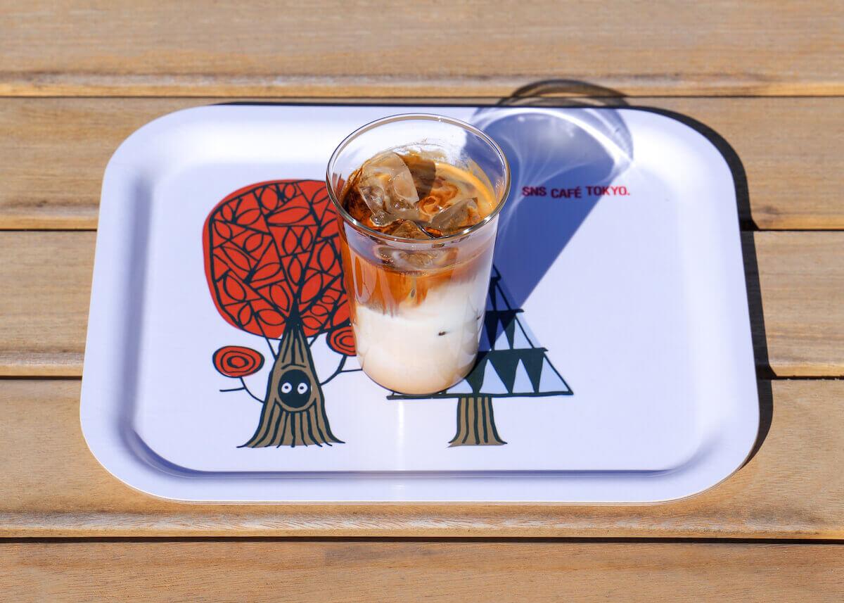LATTE ICE・HOT/¥600(税抜き)