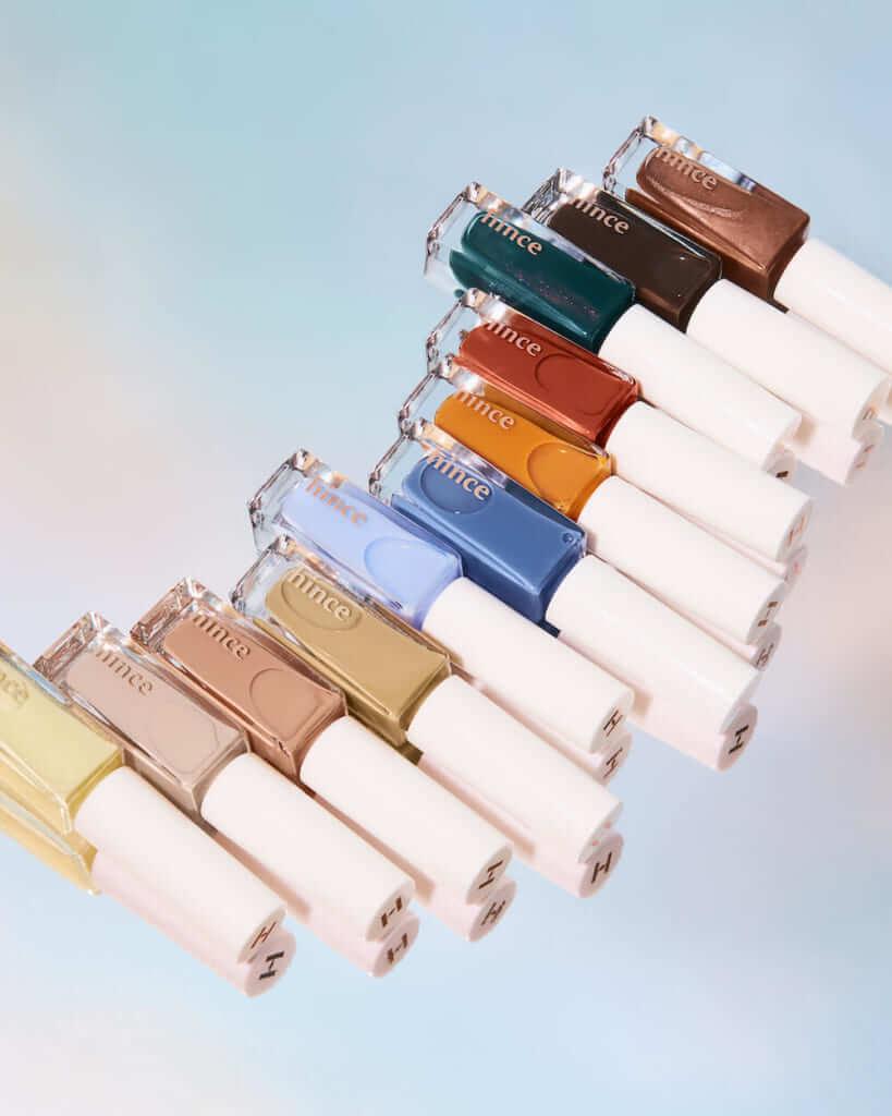 人気韓国コスメブランド「hince(ヒンス)」からこの春マストバイなネイルポリッシュ登場♡塗り方や…