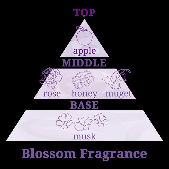Blossom Fregranceの香りチャート