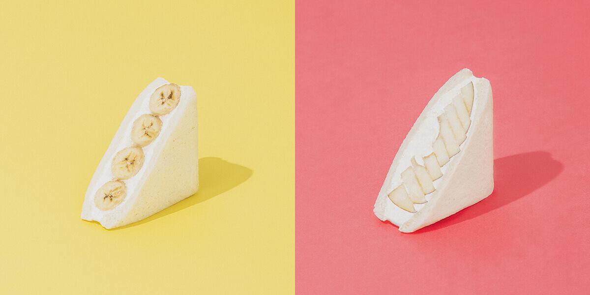 fruits and season(フルーツ アンド シーズン)のバナナ/¥453、りんご/¥486(ともに税込み)