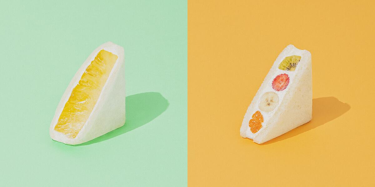 のfruits and season(フルーツ アンド シーズン)パイナップル/¥626、ミックス/¥788(ともに税込み)