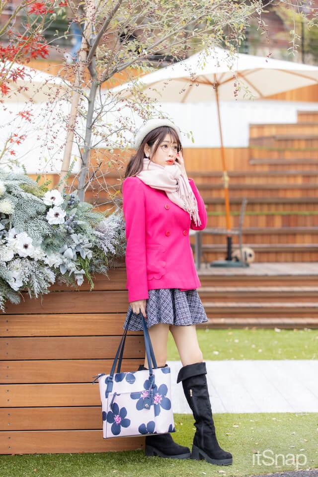 タレント、モデル、インフルエンサー・高橋里彩子サン/27歳(154cm)