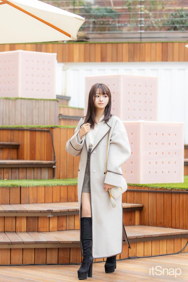 慶應義塾大学二年・奥原ゆきのサン/20歳(153cm)