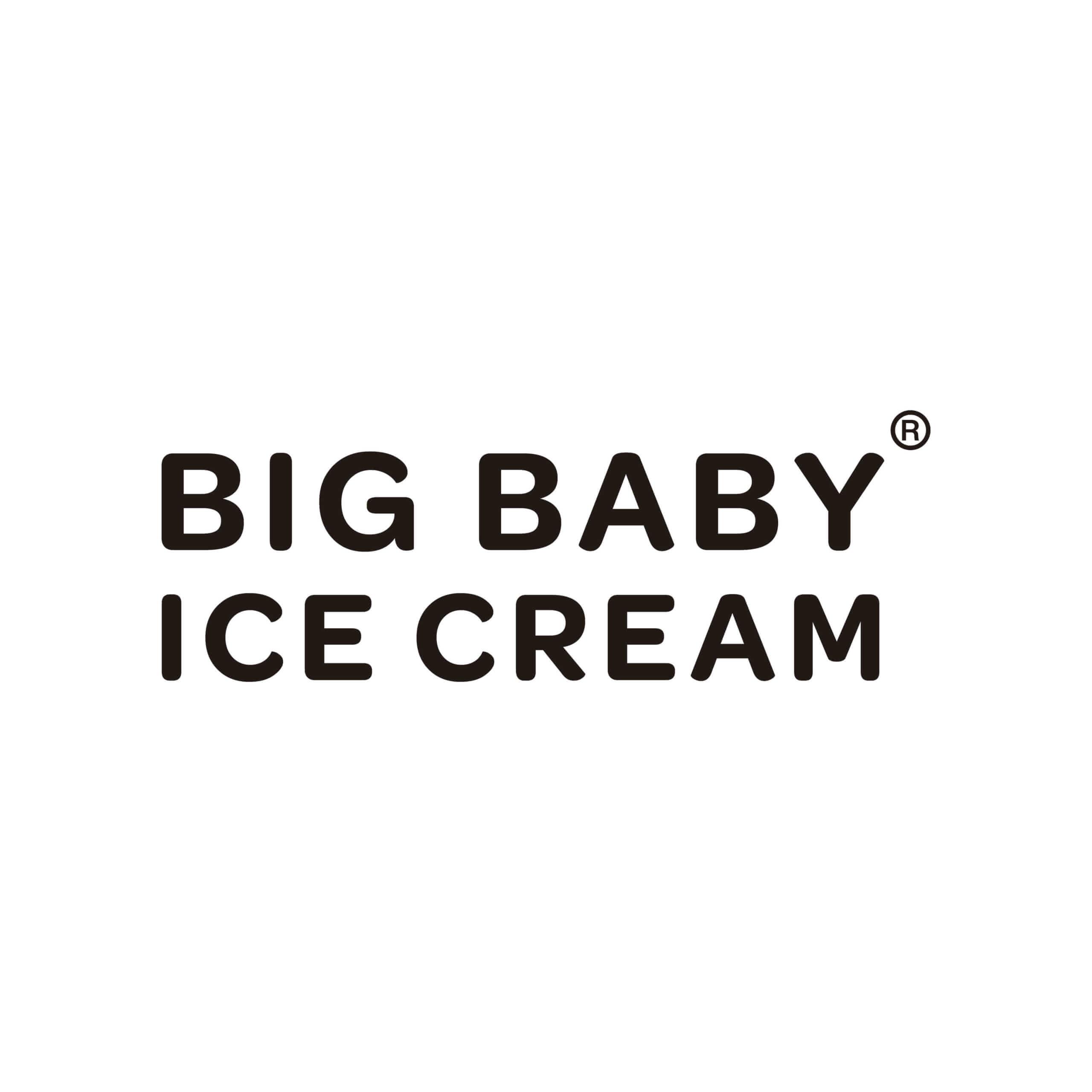 BIG BABY ICE CREAM(ビッグベイビーアイスクリーム)のロゴ