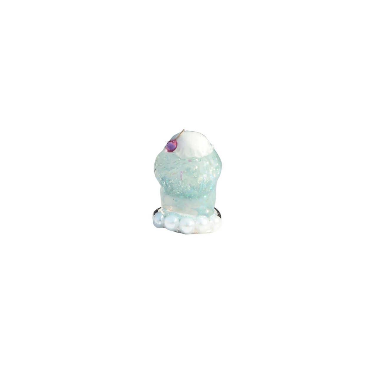 なかやまちえこDesign Ring クリームソーダ ブルー/¥4,730(税込み)
