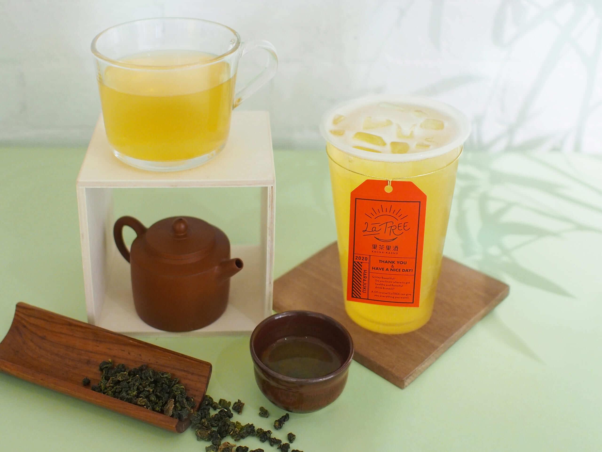 台湾茶各種/¥500〜(税込み)