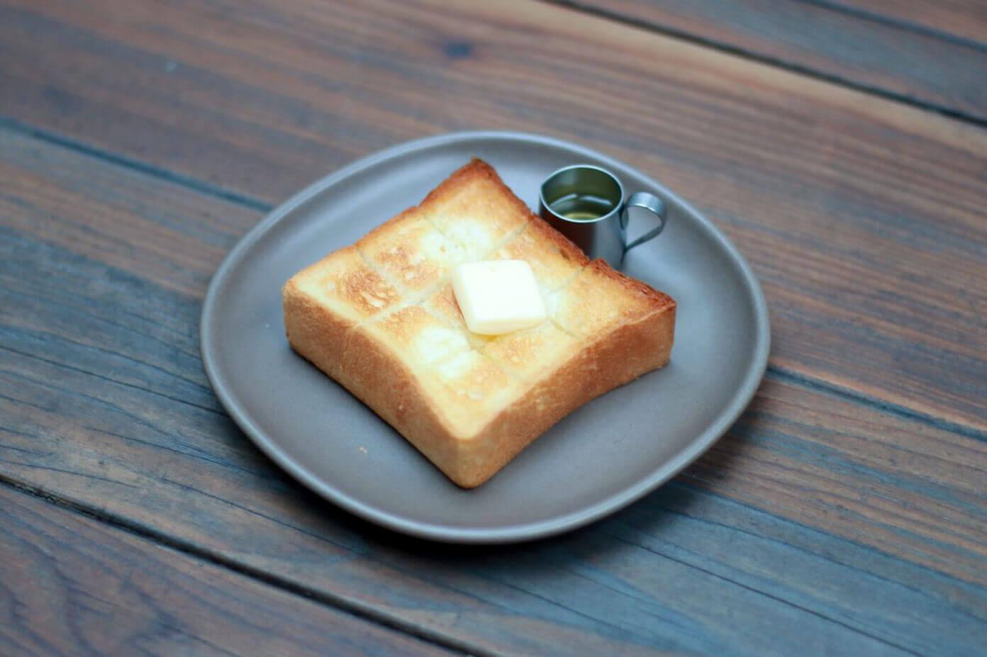 dotcom space Tokyoのハニーバタートースト/¥473(税込み)