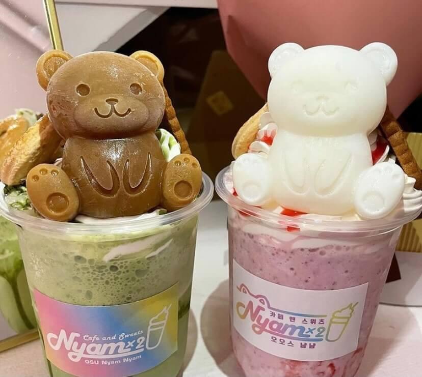 クマさんフラッペ/¥800(税込み)