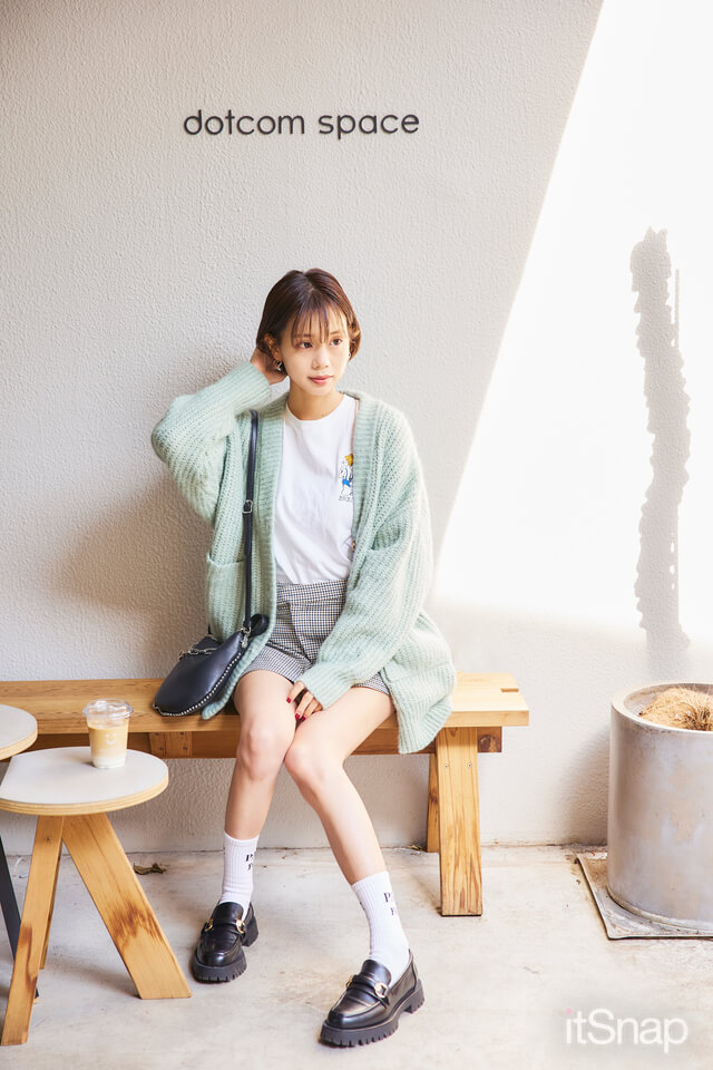 モデル、タレント・東口優希サン/26歳(165cm)