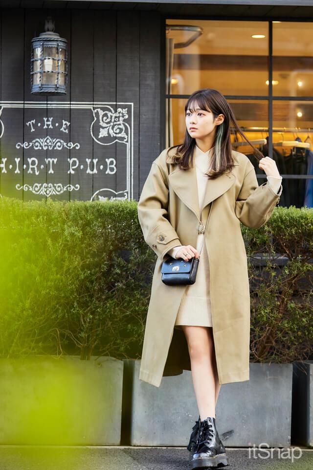 慶應義塾大学二年・木下結衣サン/20歳(168cm)