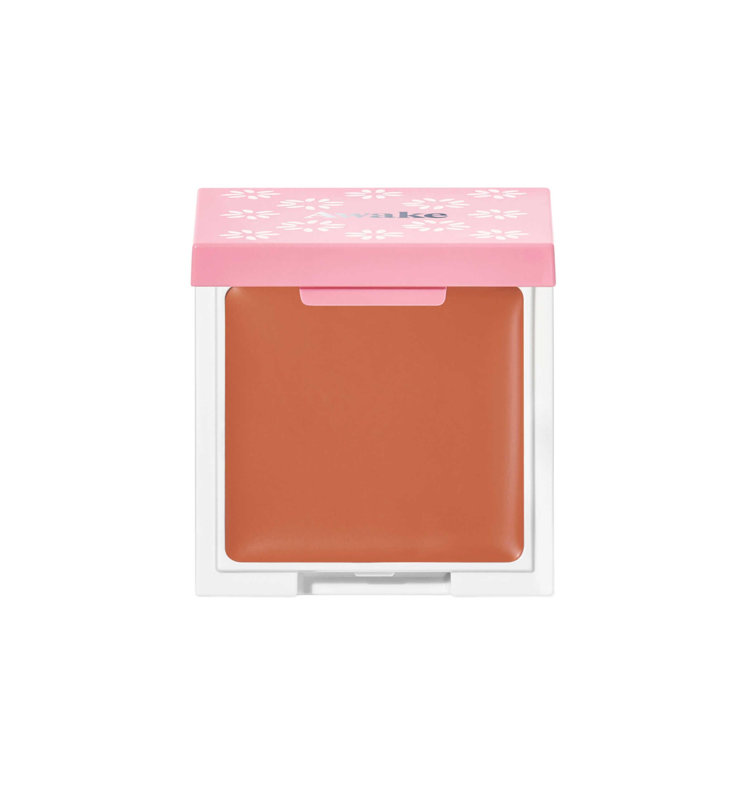 チアミーアップ グロウウイング ブラッシュ&リップ 3g 03 amber orange/¥3,080(税込み)
